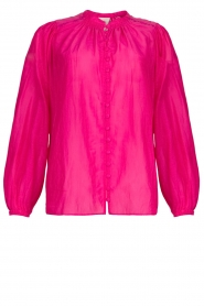 Dante 6 |  Blouse with puff sleeves Ginni | pink