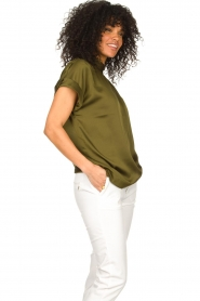 Dante 6 |  Satin top Opium | green  | Picture 4