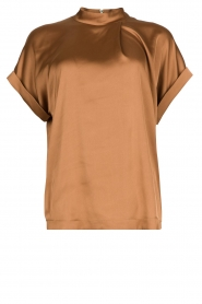 Dante 6 |  Satin top Opium | brown  | Picture 1