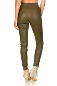 Dante 6 |  Lamb leather pants Lebon   | Picture 5