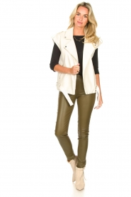 Dante 6 |  Lamb leather pants Lebon   | Picture 2