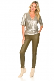 Dante 6 |  Lamb leather pants Lebon   | Picture 1