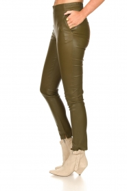 Dante 6 |  Lamb leather pants Lebon   | Picture 4