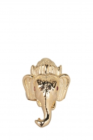 Rijkje Jewelry :  14k gold-plated ring Ganesha | gold - img3