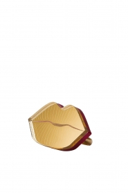 Rijkje Jewelry |  Ring Lips | gold  | Picture 1