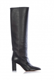 Toral |  Leather high boots Lola | black  | Picture 1