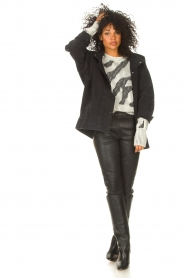 Toral |  Leather high boots Lola | black  | Picture 2