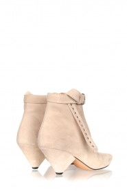 Toral |  Suede ankle boots with buckle detail Ice | beige  | Picture 4