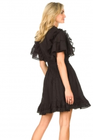 Sofie Schnoor |  Dress with bow tie Aneya | black  | Picture 8