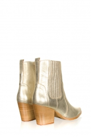 Toral |  Metallic leather ankle boots Jill | gold  | Picture 4