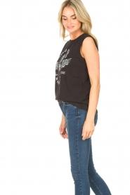 Sofie Schnoor |  Sleeveless top Yra | black  | Picture 6
