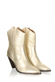 Toral |  Leather ankle boots Elisio | gold  | Picture 4