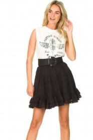 Sofie Schnoor |  Sleeveless top Yra | white  | Picture 2