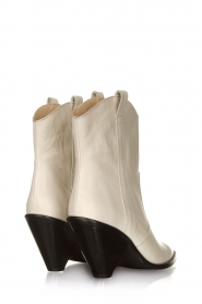 Toral |  Leather ankle boots Elisio | white  | Picture 5