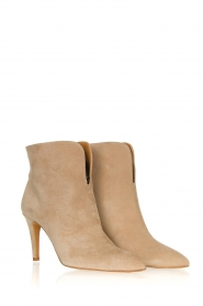 Toral :  Suede ankle boots  Joyce | beige - img3