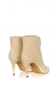 Toral :  Suede ankle boots  Joyce | natural - img5