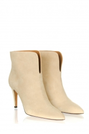 Toral :  Suede ankle boots  Joyce | natural - img4