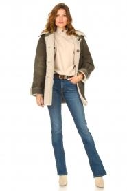 CHPTR S |  groen | Lammy coat Liya  | Picture 3