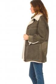 CHPTR S |  groen | Lammy coat Liya  | Picture 6