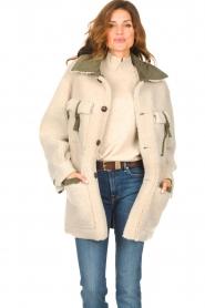 CHPTR S |  groen | Lammy coat Liya  | Picture 2