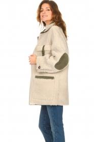 CHPTR S |  groen | Lammy coat Liya  | Picture 7