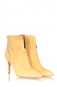 Toral |  Suede ankle boots Joyce | yellow  | Picture 3
