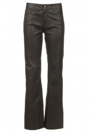 CHPTR S |  Lamb leather pants Nicole | black  | Picture 1