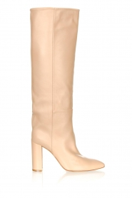 Toral |  High leather boots Tierra | beige  | Picture 1