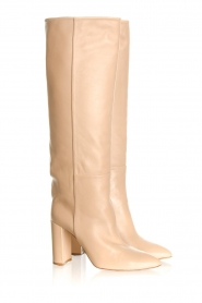 Toral |  High leather boots Tierra | beige  | Picture 5