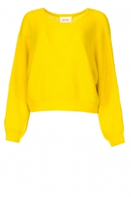 American Vintage |  Knitted sweater East | yellow  | Picture 1