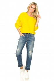 American Vintage |  Knitted sweater East | yellow  | Picture 3