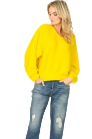 American Vintage |  Knitted sweater East | yellow  | Picture 4