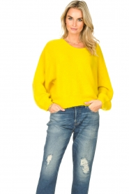 American Vintage |  Knitted sweater East | yellow  | Picture 5
