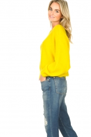 American Vintage |  Knitted sweater East | yellow  | Picture 6