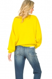 American Vintage |  Knitted sweater East | yellow  | Picture 7