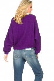 American Vintage |  Knitted sweater East | purple  | Picture 7