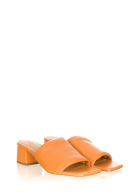 Toral |  Slipper with heel Diamand | brown  | Picture 4