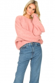 American Vintage    Knitted sweater East   pink    Picture 2