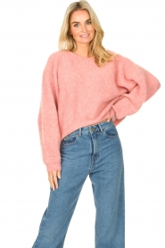 American Vintage    Knitted sweater East   pink    Picture 4