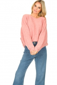 American Vintage    Knitted sweater East   pink    Picture 5