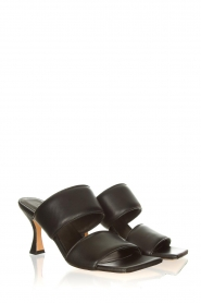 Toral |  Slipper with heel Sofia | black  | Picture 4