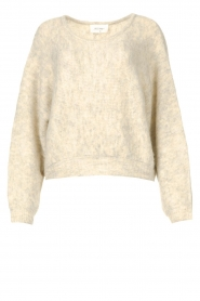 American Vintage |  Knitted sweater East | grey  | Picture 1