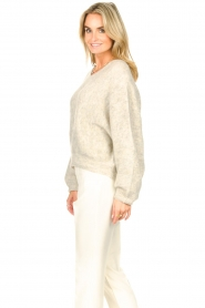 American Vintage |  Knitted sweater East | grey  | Picture 6