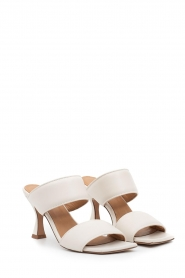 Toral :  Slipper with heel Sofia | Off-white - img5