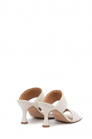 Toral :  Slipper with heel Sofia | Off-white - img6