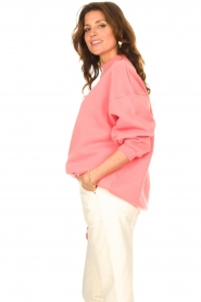 American Vintage    Oversized sweater Ikatown   pink    Picture 6