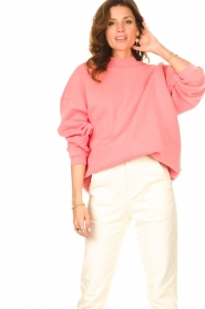 American Vintage    Oversized sweater Ikatown   pink    Picture 2