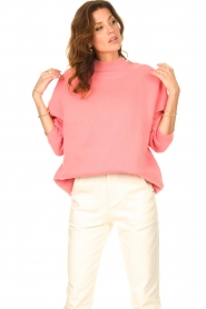 American Vintage    Oversized sweater Ikatown   pink    Picture 4