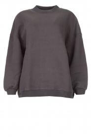 American Vintage |  Oversized sweater Ikatown | dark grey  | Picture 1