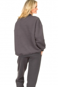 American Vintage |  Oversized sweater Ikatown | dark grey  | Picture 7